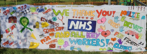 Covid 19, NHS, Staff, Thank You, Oodo™
